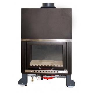Wood Hydro Fireplace KLOVER TKR 35 KIT 34,5kW SICURO TOP