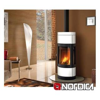 Wood stove LA NORDICA mod.Fortuna Panorama 7kw